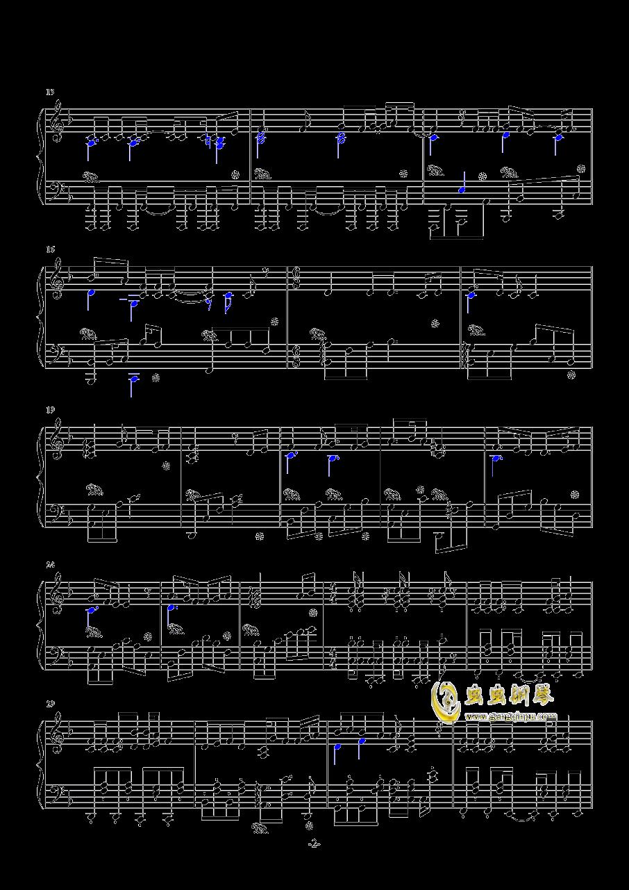 histheme钢琴简谱