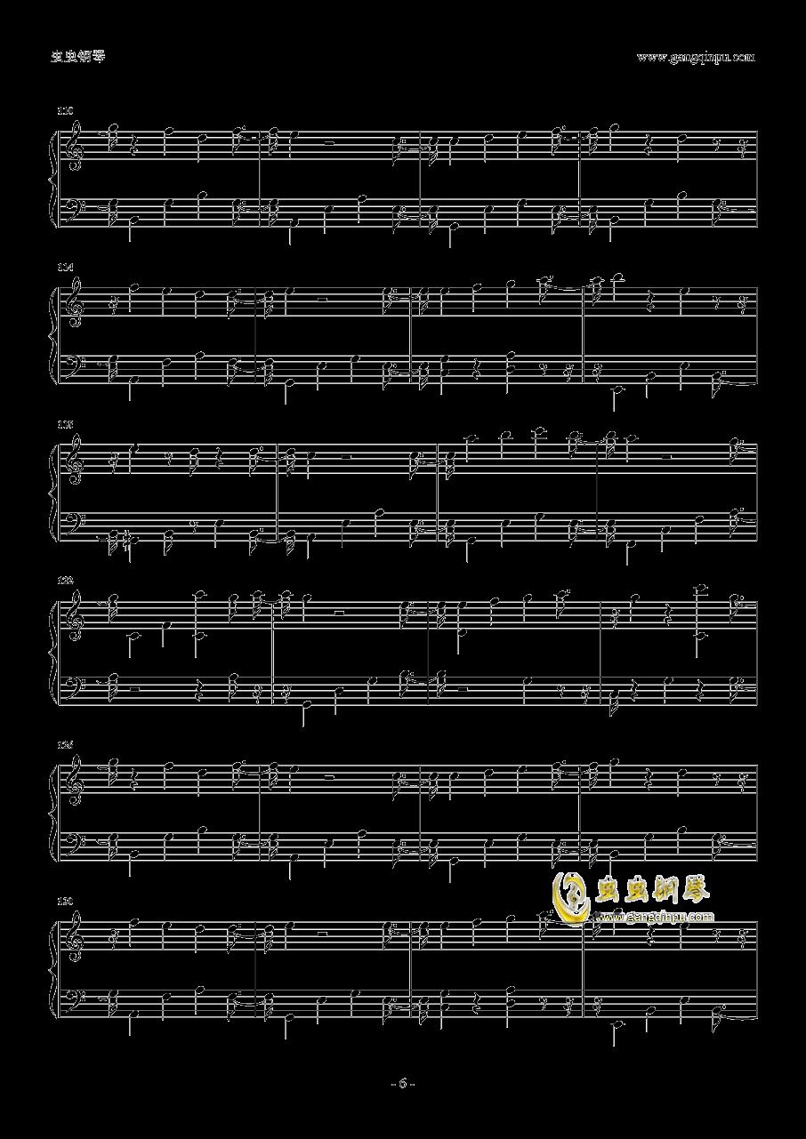 吉他谱 第6页