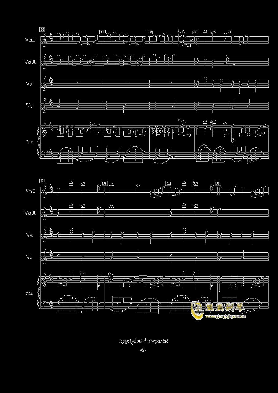 菊次郎的夏天钢琴谱曲谱完整版_学习啦在线学习网