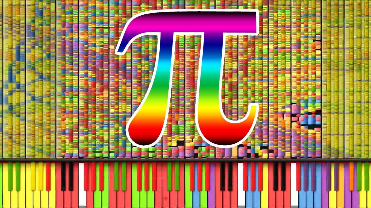 【黑化】圆周率钢琴谱