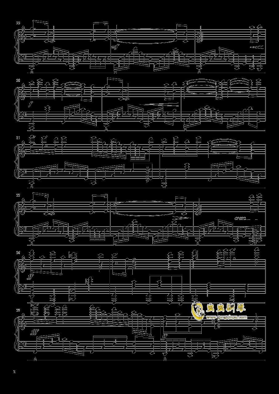 祈祷钢琴曲谱_少女的祈祷钢琴曲谱