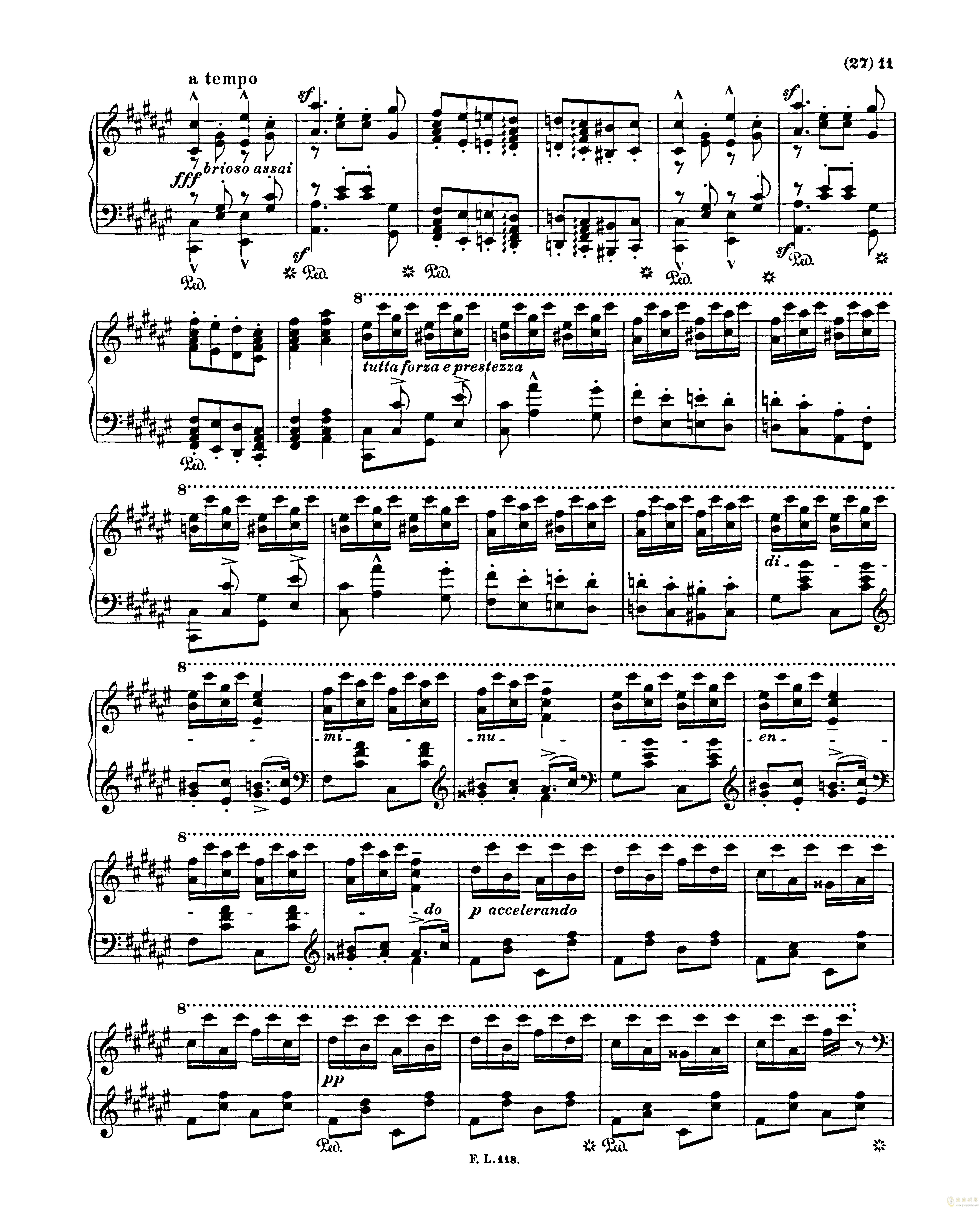吉他谱 第11页