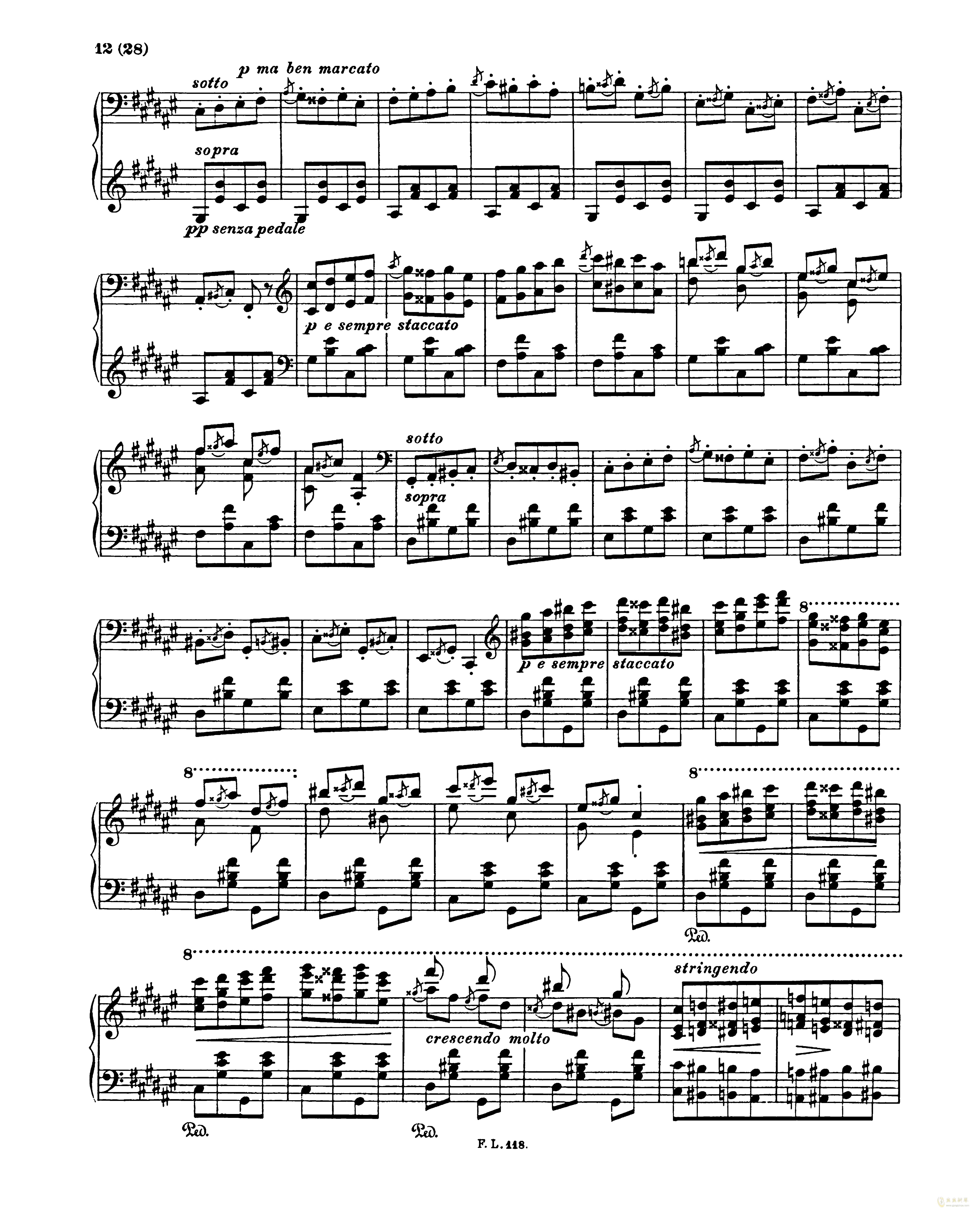吉他谱 第12页