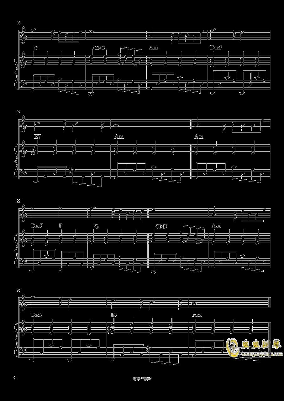 谱钢琴简谱_小星星钢琴简谱