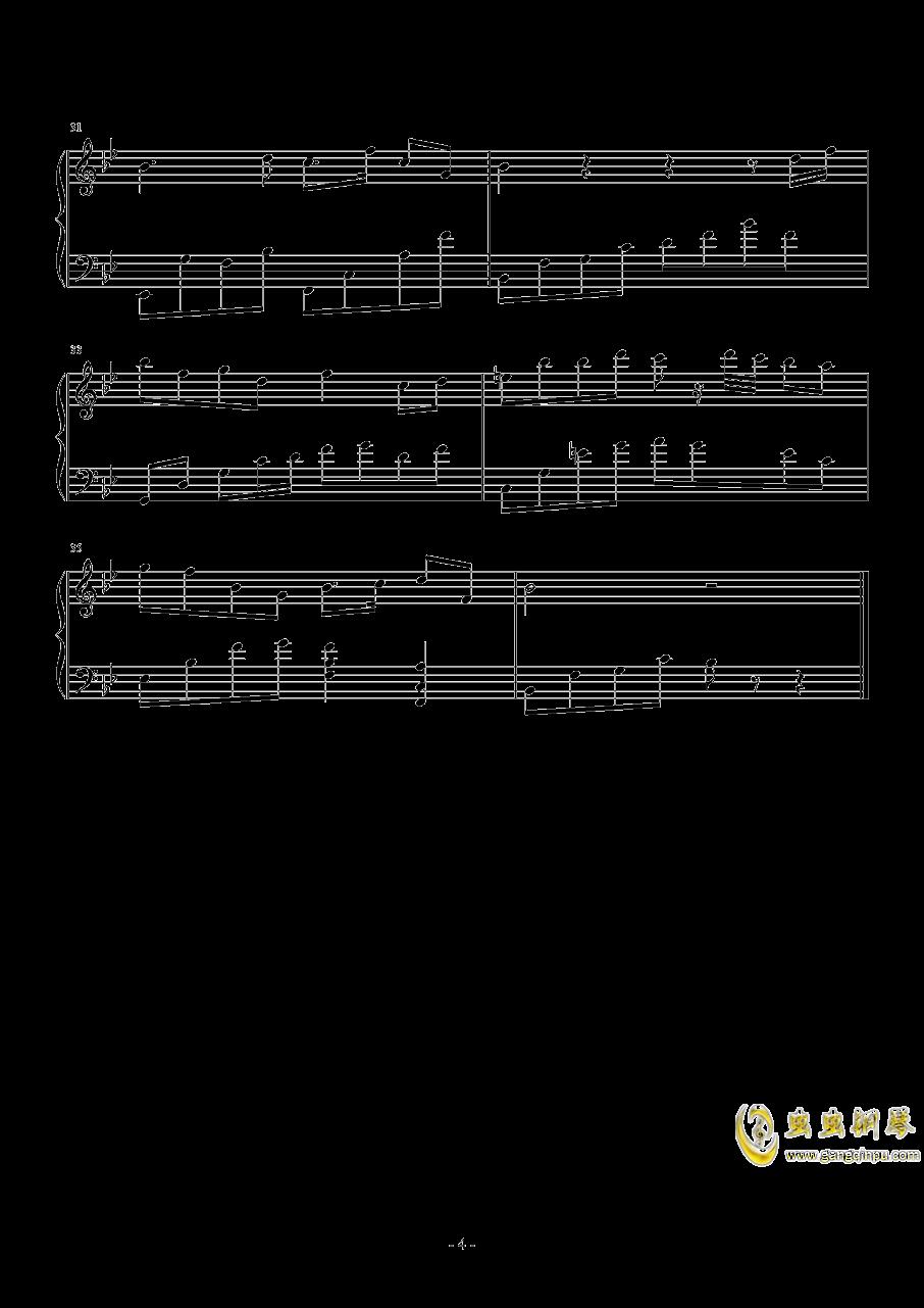 一方钢琴谱 bb调独奏谱 姐姐的吉他 钢琴独奏视频 原版钢琴谱 乐谱 曲谱 五线谱 六线谱 高清免费下载