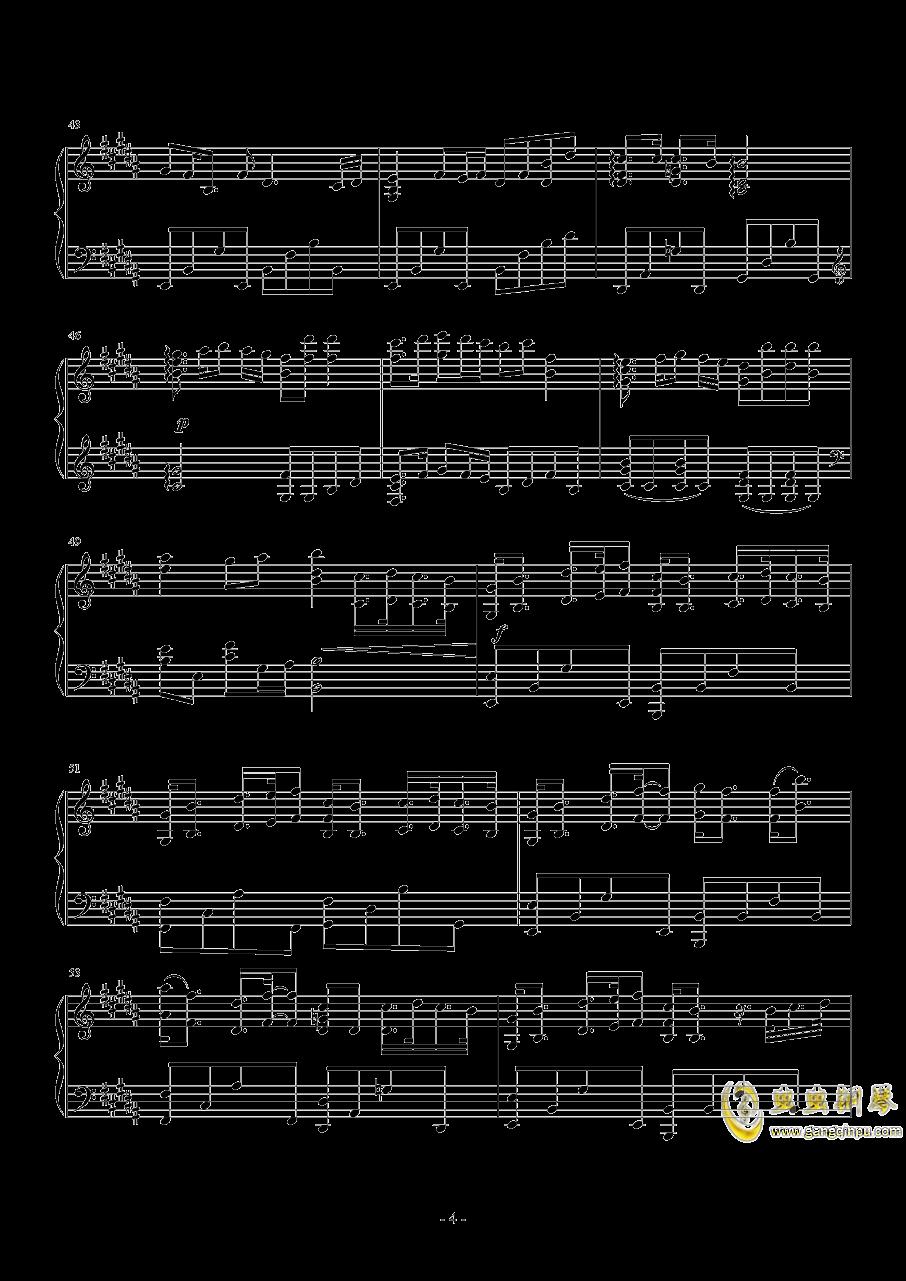 吉他谱 第4页
