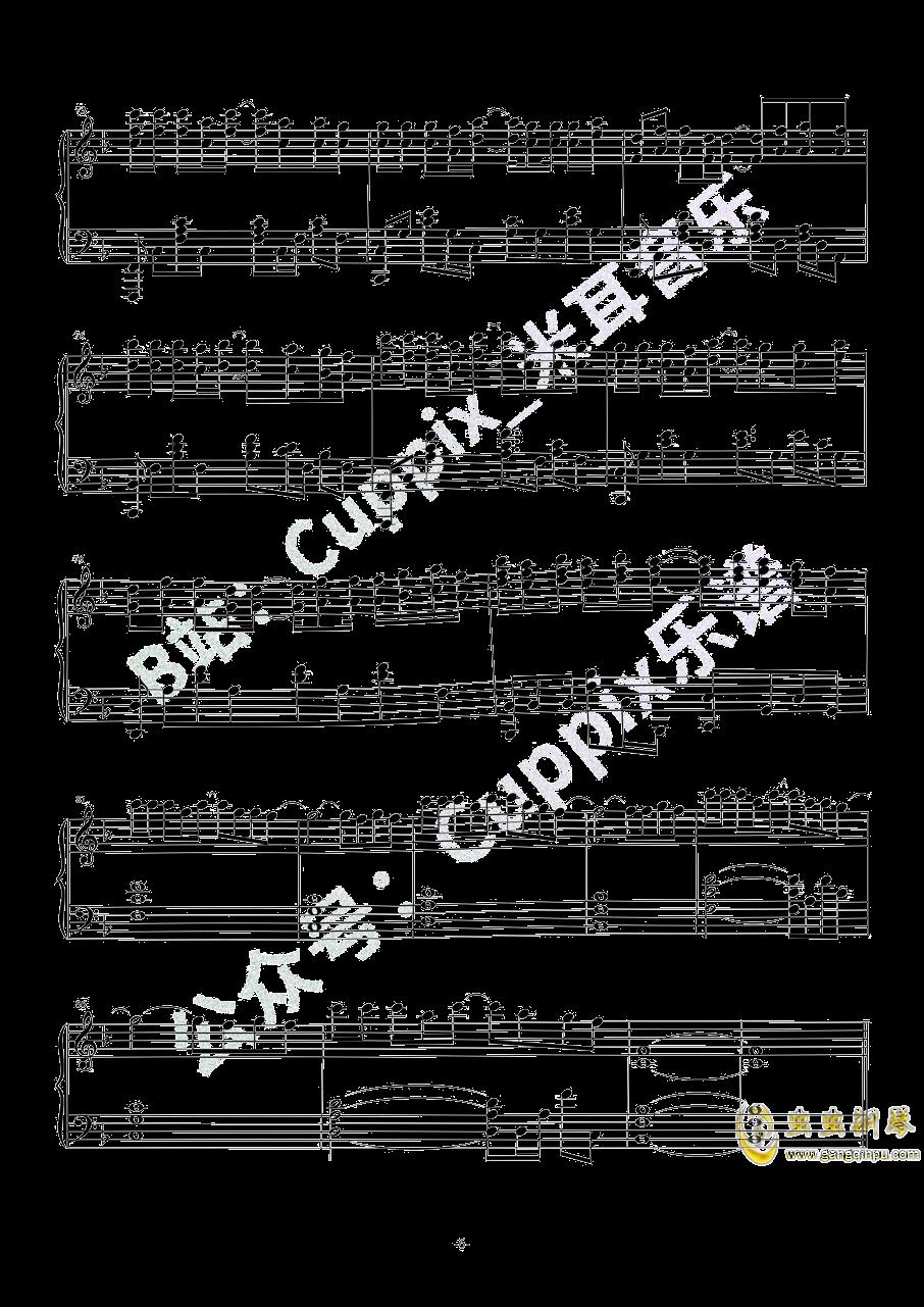 钢琴禅乐曲谱